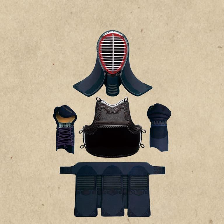 剣道具セット(ミシン刺)